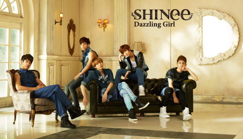 Shining SHINee Teaser for Dazzling Girl (New Japan Single)