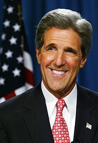 """<br /><br />         I am thinking about John Kerry</p><br /> <p>            """"#DNC2012   """"Ask Osama bin Laden if he's better off now than he was four years ago!"""" — Senator John Kerry""""</p><br /> <p>            Check-in to</p><br /> <p>     John Kerry on GetGlue.com<br /><br />"""