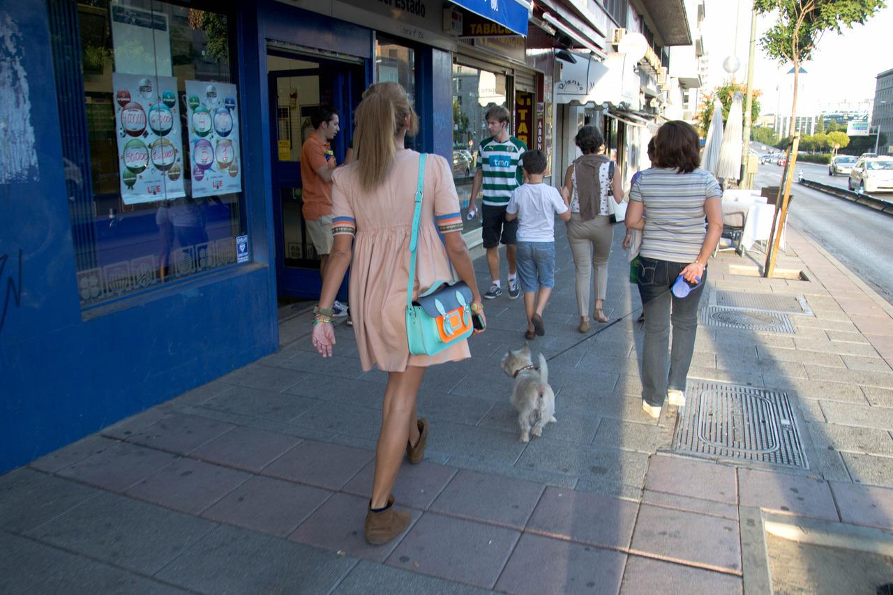 Madrid moda callejera
