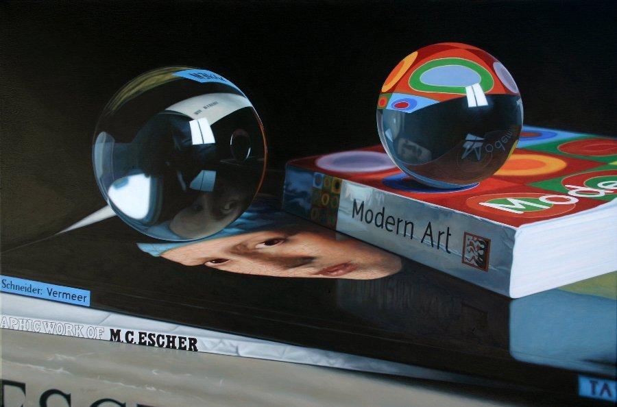 Reflections of Modern Art by Jason De Graaf