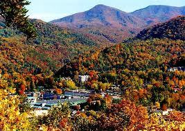 Fall colors in Tennessee and North Carolina
