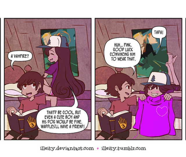 Gravity Falls Artifacts 3the Sweater Of Liking Someone A Lot Read