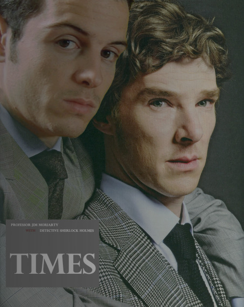 Moriarty and Holmes