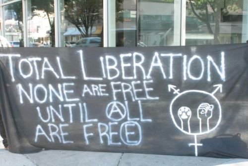 revolt-revolt:TOTAL LIBERATION - NONE ARE FREE UNTIL (A)LL ARE FRE(E) // October 4, 2012 // Vancouver, BC, Canada