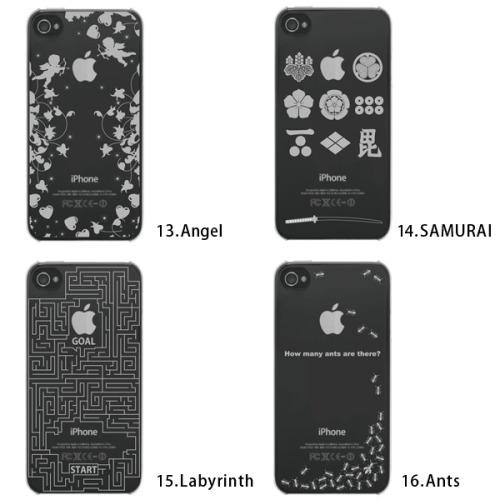 iPhone+ アイフォンプラス iPhone4/4S クリアケースハード
