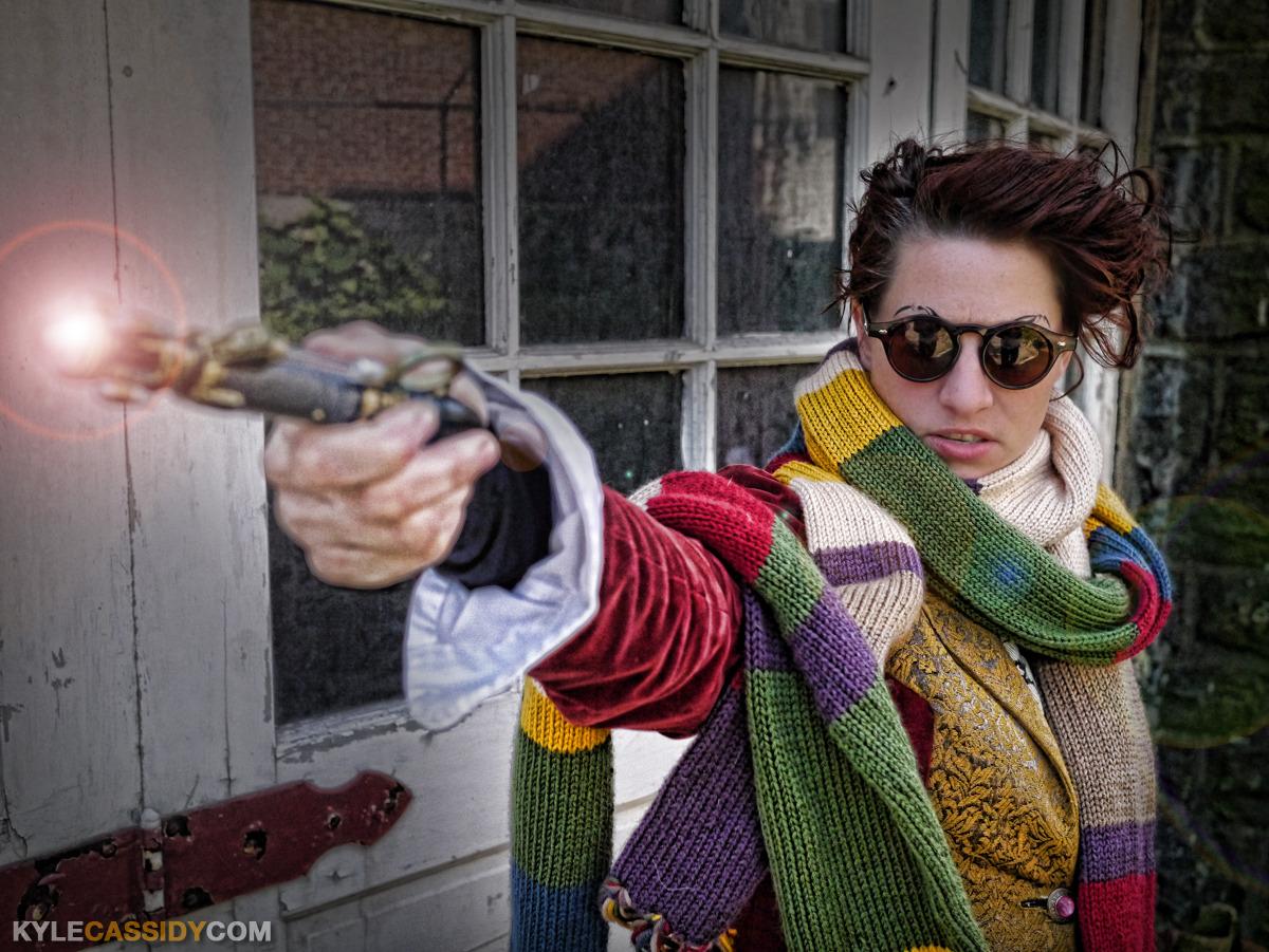 Amanda Palmer as the Fourth Doctor.