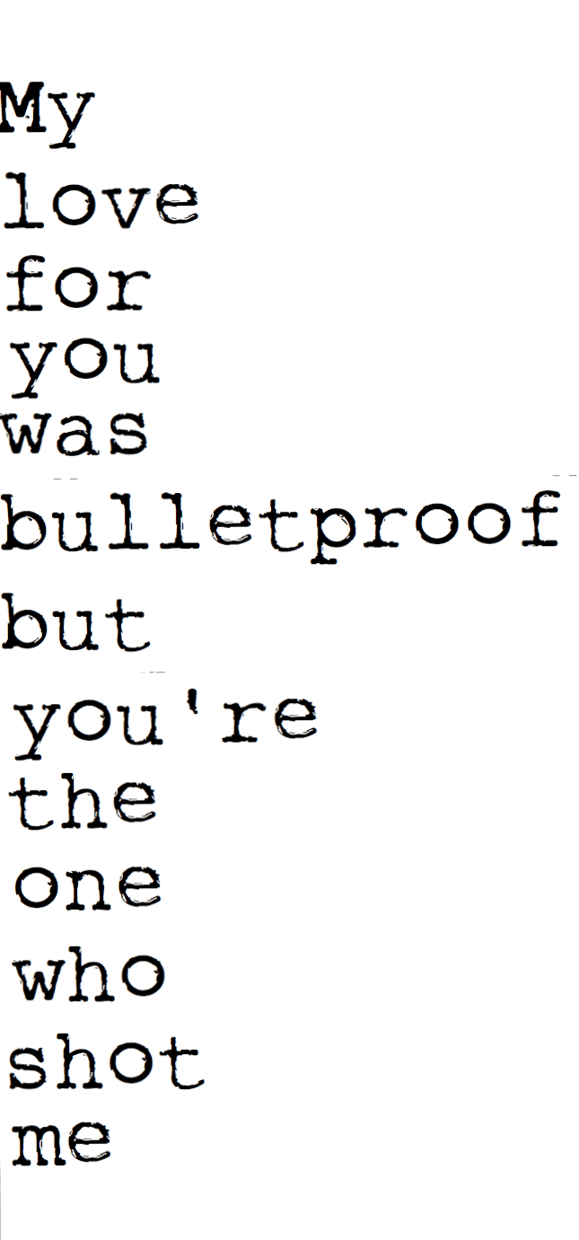 Pierce Veil Bulletproof Love Lyrics