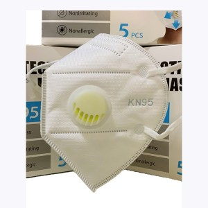 Protective Mask with Valve (5 pcs/box)