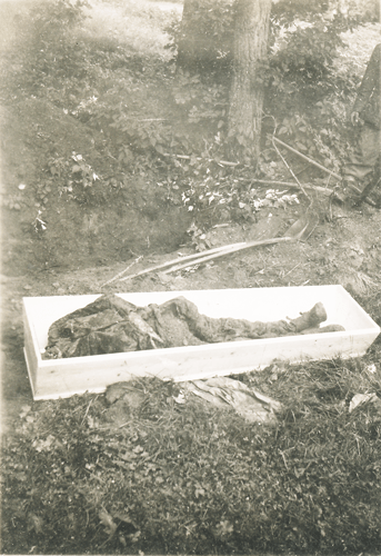 143. SS PW troops burying deceased, 10 May to 11 July, 1945
