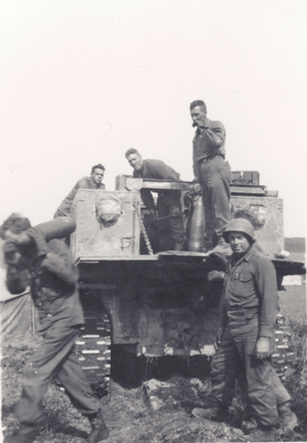 420. Ammunition transfer from M4 Tractor to gun position