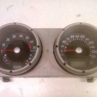 6N0 929 804 D Tellerklok/Controle Paneel Volkswagen Polo 6N2 (2001)
