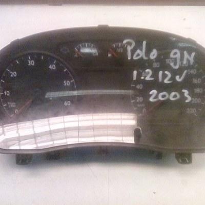 6Q0 920 820 N Tellerklok/Controlepaneel Volkswagen Polo 9 N (2003)