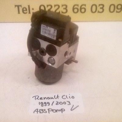 0 130 108 084-0 173 004 521 Abs Pomp Renault Clio 1999/2003 Bosch