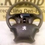 96357097ZL / 96422230ZL Stuur Met Airbag Peugeot 406 1999/2004