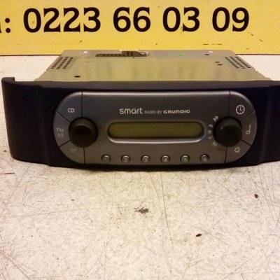 0001199 V006 0000 00 Radio Smart City Coupe 1999