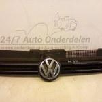 1J0 853 651 D Voorgrill Volkswagen golf 4 Kleur (LC9Z) Zwart