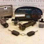 06A 906 032 HN / 1J1 907 637 D/ 8L0 920 933 N ECU Startset Met Alle Sloten Audi A3 1.8 Turbo AUQ 180 PK 2002