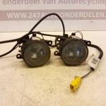 8200074008 8200124784 Mistlampen Links En Rechts Met kabel Renault Megane 2