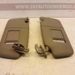 8E0 857 552 / 8E0 857 551 Zonneklep Links En Rechts Audi A4 B6 2001-2004