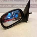 011156 Spiegel Links Nissan Micra K11 Groen Metallic 1994-1999 Handbediend