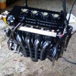 Gebruikte Motor Mitsubishi Colt CZ3 1.3 2007 86000 Km (MN195771-A135100100)
