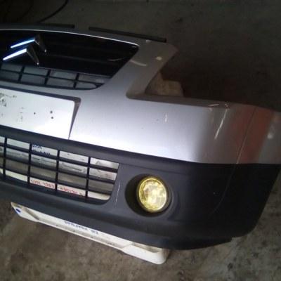 Voorbumper Citroen C2 2004-2008 Kleur Zilver EZRC