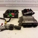 9643498780 5WS40113B-T ECU Startset Met Sloten Citroen C2 1.4 HDI 8HX