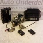 284B2AX620 / MEC32-100 G3 3Y10 ECU Startset Met Sloten Nissan Micra K12 CR14 Automaat 2004 (71)