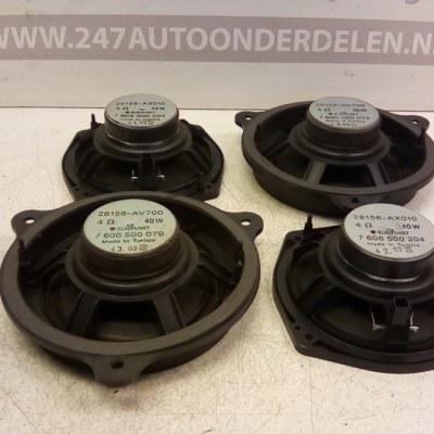 28156-AV700 28156-AX010 Speaker Set Nissan Micra K12