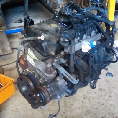 Gebruikte Motor Mitsubishi Colt CZ3 1.3 2007 141000 Km (MN195771-A1350100600)