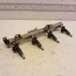 7506158 2214A01941 Injectorrail Met Injectoren BMW 3 Serie E46 Compact 318