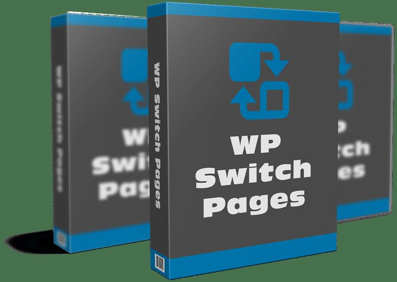 Free WordPress Plugin – Switch Pages
