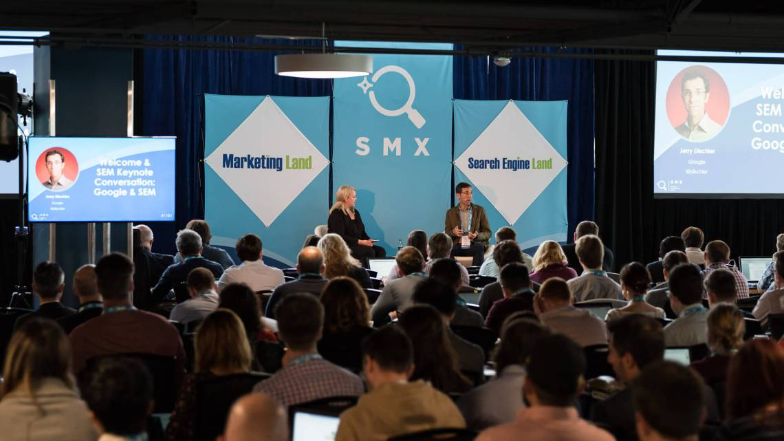 Who's speaking at SMX East?