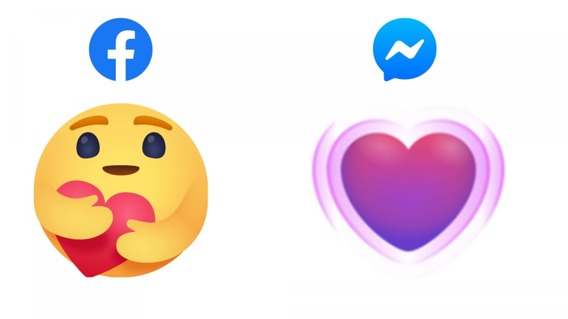 Facebook adds new 'care' emoji reactions on its main app and in Messenger