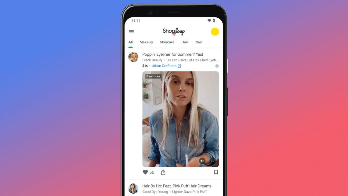 Google's latest R&D project is Shoploop, a mobile video shopping platform