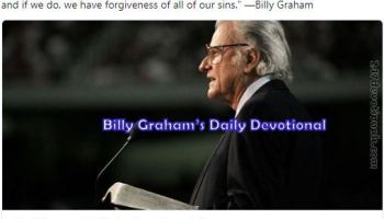 The Promises of GodBy Billy Graham April 22