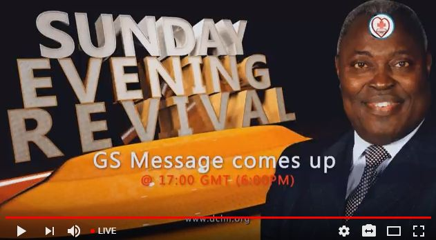 Deeper Life Bible Church Sunday Revival Crusade (25/03/18)