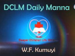 DCLM Daily Manna