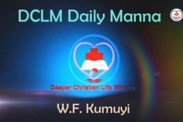 DCLM Daily Manna 21 March, 2018