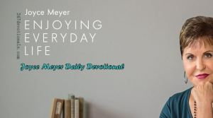 Joyce Meyer- MAY 03, 2018