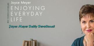 Daily Devo Joyce Meyer