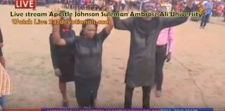 Live Streaming Johnson Suleman