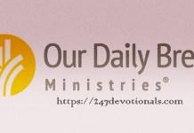 Our Daily Bread Faith