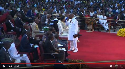 Bishop David Oyedepo Kingdom Advancement prayer is everyone's responsibility