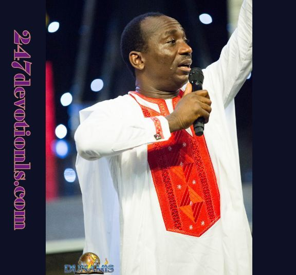 Seed Of Destiny Devotional 16th April 2018 By Dr Paul Eneche