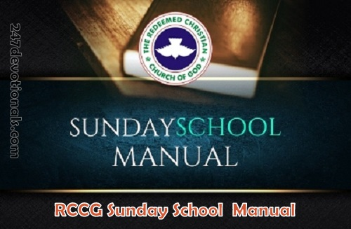 SUNDAY SCHOOL MANUAL