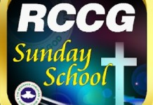 RCCG Sunday School STUDENT Manual 21 July 2019