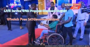 LIVE Sunday Service With Prophet Shepherd Bushiri