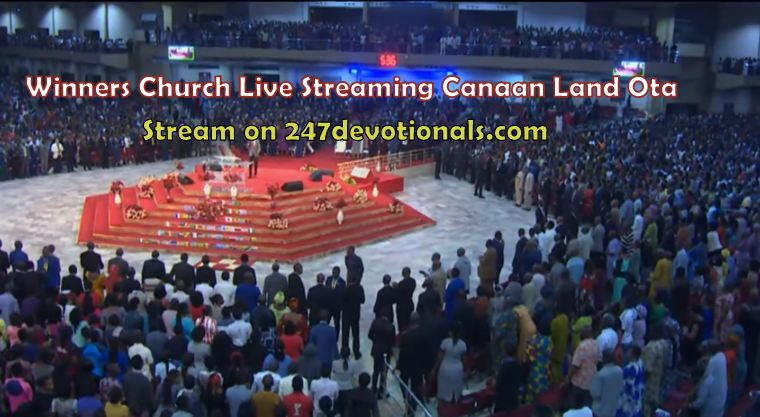 Winners Live Streaming Canaan Land Ota