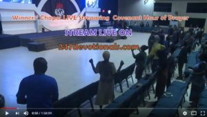 Winners' Chapel LIVE Streaming Covenant Hour of prayer